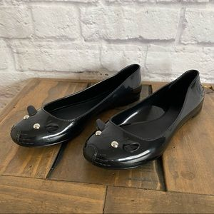 MARC BY MARC JACOBS Mouse Ballerina Flats Black